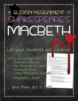 Macbeth missing scene assignment