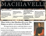 Machiavelli's 'The Prince', Advice Pamphlet (Summative Ass