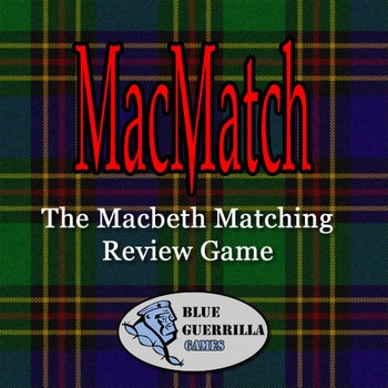 Macmatch: The Macbeth Review Matching Game DEMO