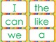 Macmillan Kindergarten- Sight Words for Word Wall (green,y