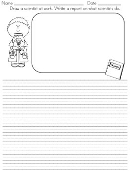 Macmillan Treasures- Unit 4, Week 4- Writing Center (freebie)