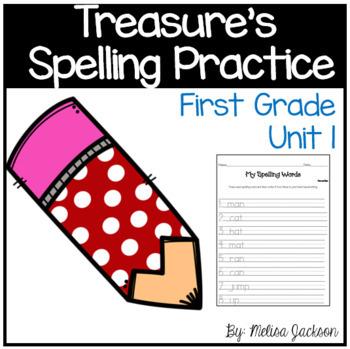 Macmillan/McGraw-Hill Treasures Unit 1 Spelling Practice F