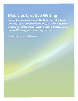 Mad Libs Creative Writing