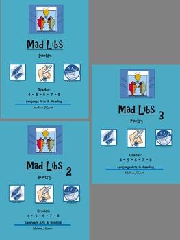 Mad Libs: Poetry Bundle (12 Mad Libs)