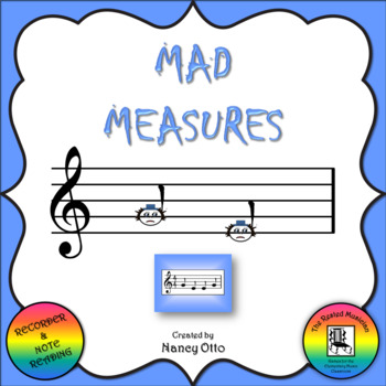 Mad Measures - Notes G and E