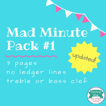 Mad Minute Pack #1