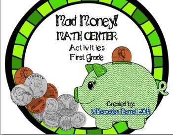 Mad Money!  Math Center Activities First Grade