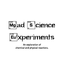 Mad Scientist Chemistry
