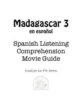 Madagascar 3 Spanish Movie Guide