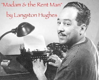 """""""Madam and the Rent Man"""" poem by Langston Hughes & questions"""