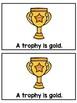Made of Gold- Emergent Reader- {Freebie}