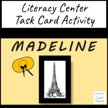 Madeline Ludwig Bemelmans Literacy Task Cards Group Readin