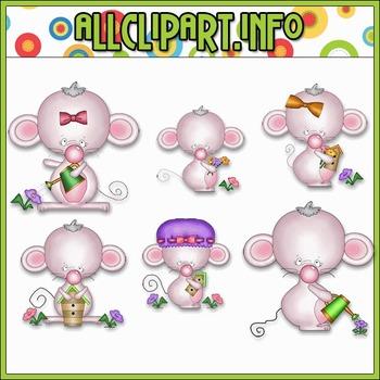 Madge the Mouse Clip Art - Alice Smith Clip Art