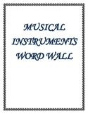 MaestroLeopold'sAlphabetical Music Instrument Word Wall