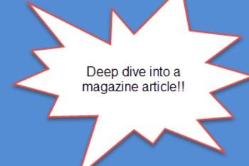 Magazine Article Worksheet