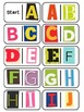 Magazine Letter Dominoes Game, 3-in-1 Literacy Center, Alp