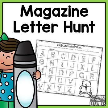 Letter Hunt Freebie