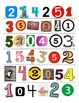 Magazine Numbers for Little Learners (Environmental Print