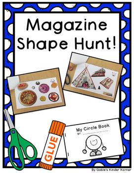 Magazine Shape Hunt Booklets