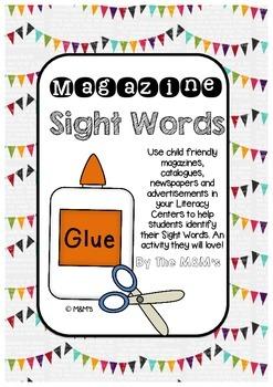 Magazine Sight Words