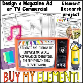 Magazine or TV Commercial Element Advertisement Project