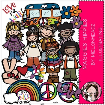 Maggie's Hippies by Melonheadz COMBO PACK