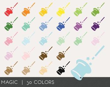 Magic Digital Clipart, Magic Graphics, Magic PNG, Rainbow