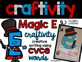Magic E  (CVCE) Craftivity
