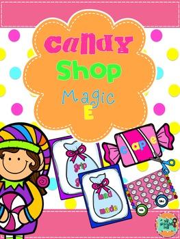 Magic E- First Grade center games