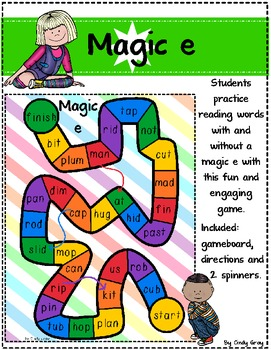 Magic E Gameboard