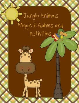 Magic E Jungle Animals Pack