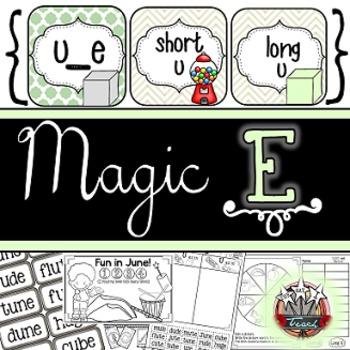 Magic E Long Vowel U