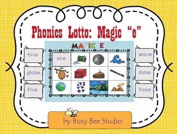 Magic E Lotto Game