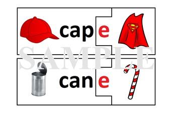 Magic E Puzzle