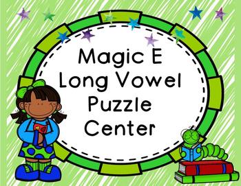 Magic E Puzzle Center
