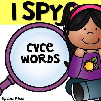 Magic E, Silent E, Sneaky E, CVCe Literacy Station: I Spy