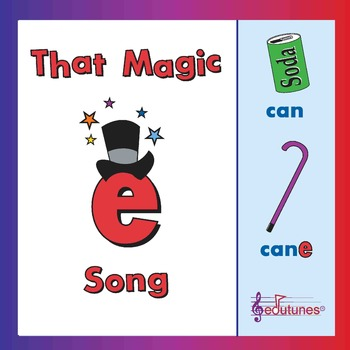 """That Magic E:"" A song about the silent e that makes short"