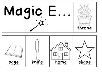 Magic E flipbook