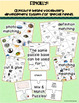 Multiple Meaning Vocabulary Picture Task Cards & Games: Sp