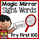 Sight Word Game - Magic Mirror Reveal Fry First 100