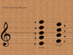 Magic Notes 6  Music Note Reading G major, G A B C D
