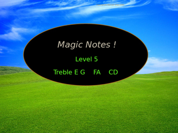Magic Notes Level 5 Music Sight Reading and Solfege for Be