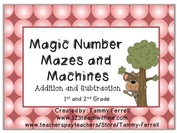 Magic Number Mazes and More!