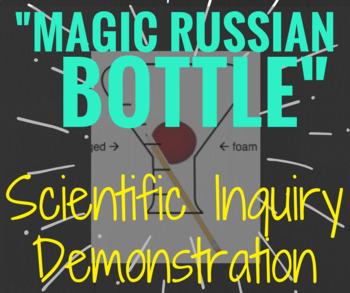 """Magic Russian Bottle"" Scientific Method Demonstration ""mini lab"""