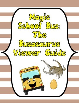 Magic School Bus Busasaurus