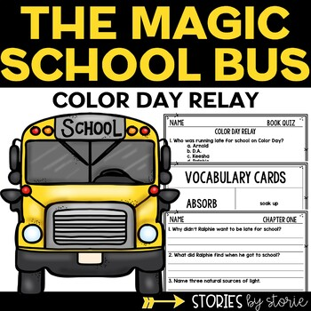 Magic School Bus Chapter Book #19 Color Day Relay