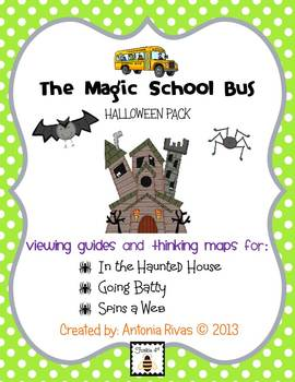 Magic School Bus Halloween Pack [viewing guides]
