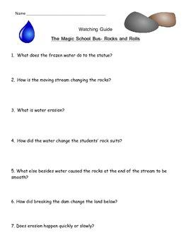 "Magic School Bus ""Rocks and Rolls"" - Erosion"