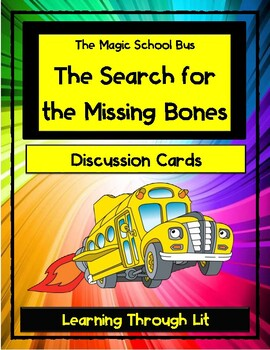 Magic School Bus THE SEARCH FOR THE MISSING BONES - Discus