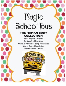 Magic School Bus - The Human Body Collection